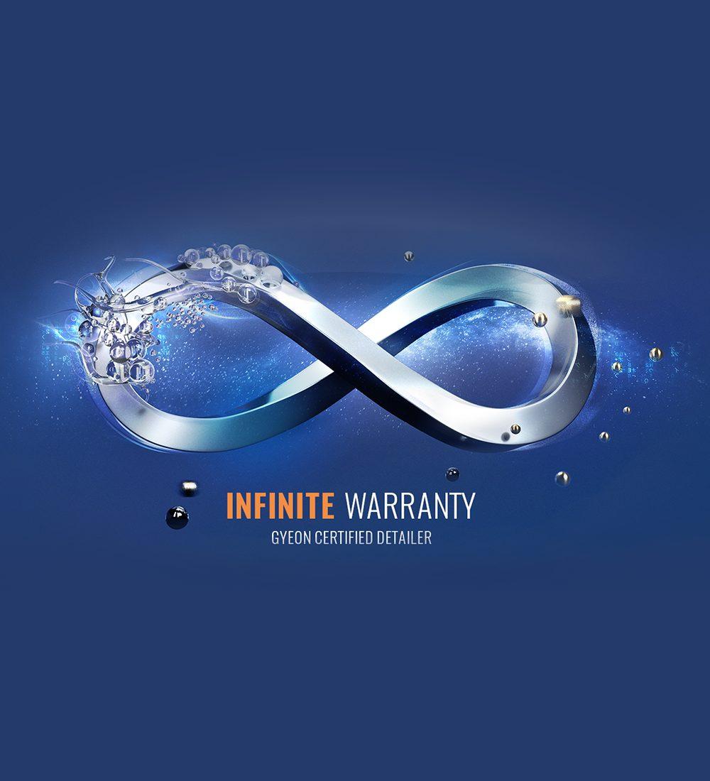 INFINITE WARRANTY- GYEON