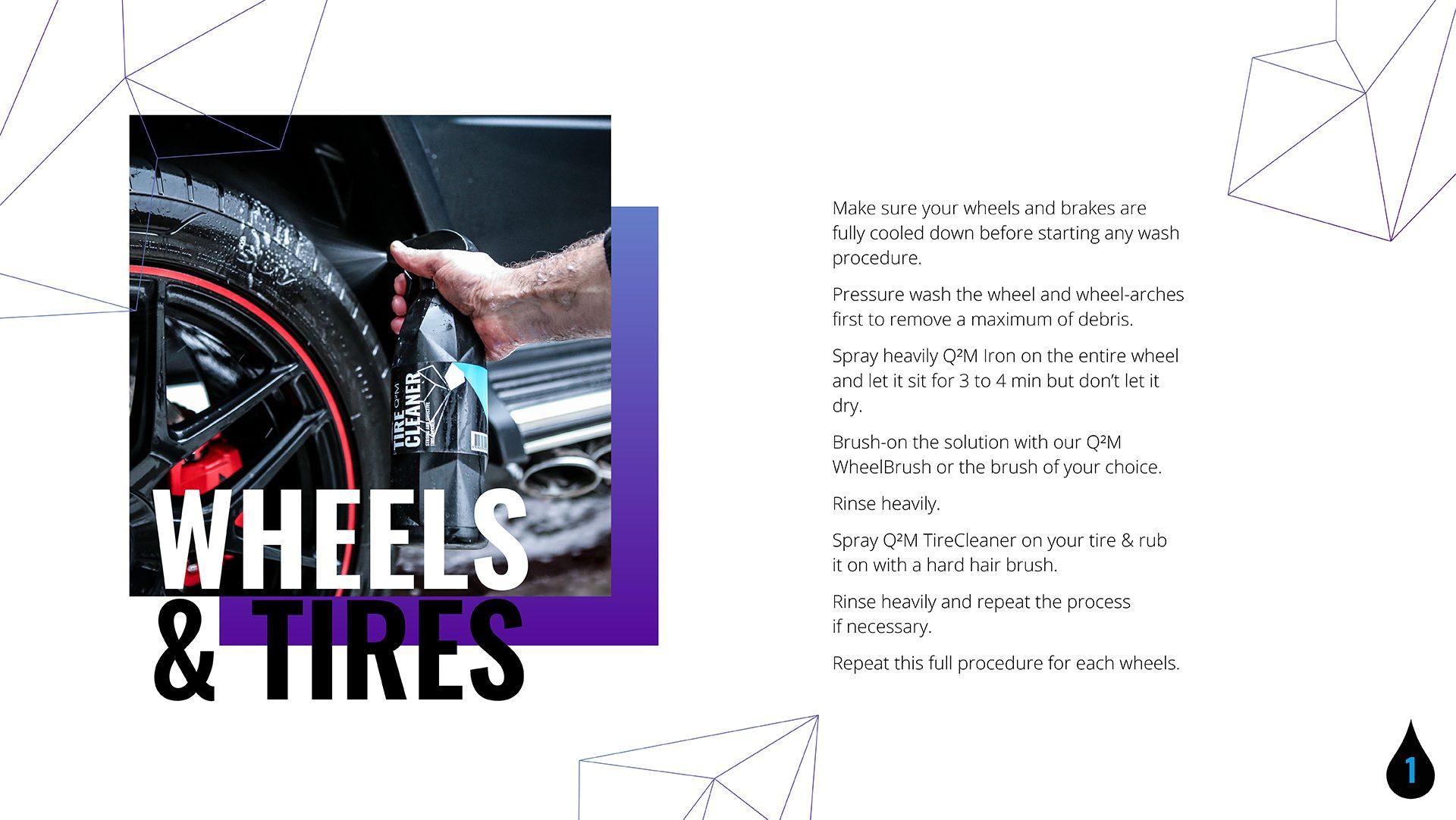 Wheels and Tires - GYEON Maintanance
