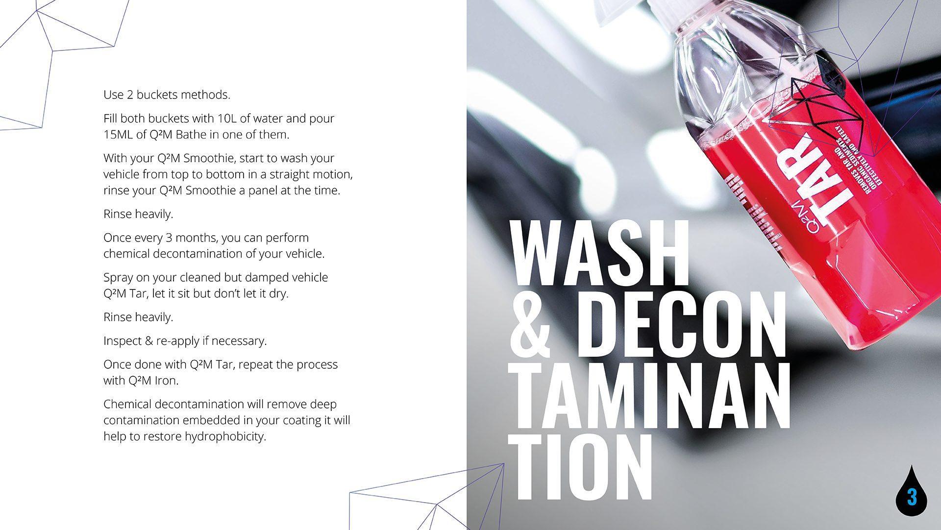 Wash and Decon Taminantion - GYEON maintenance