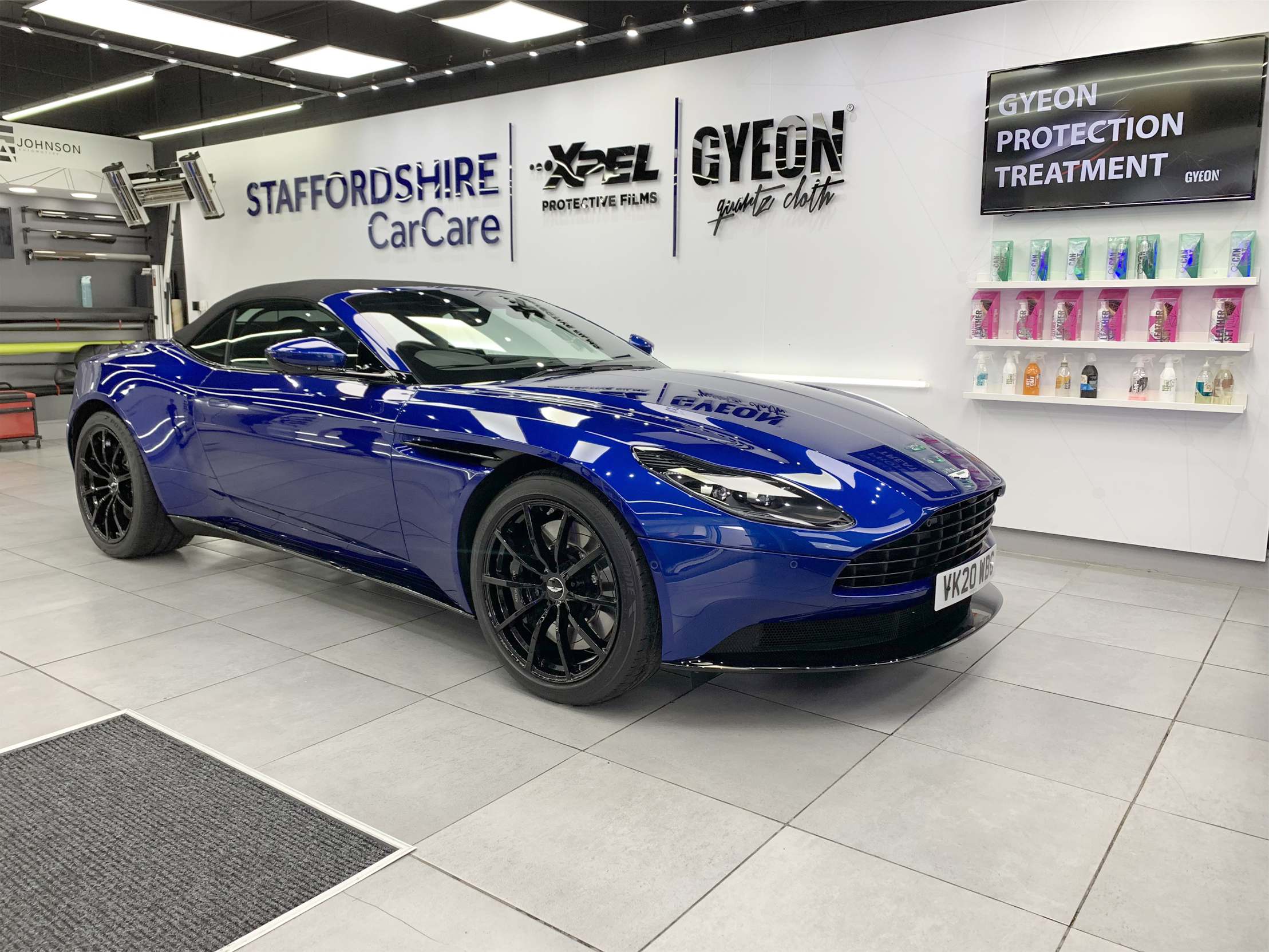GYEON Ceramic Coating- aston martin db11