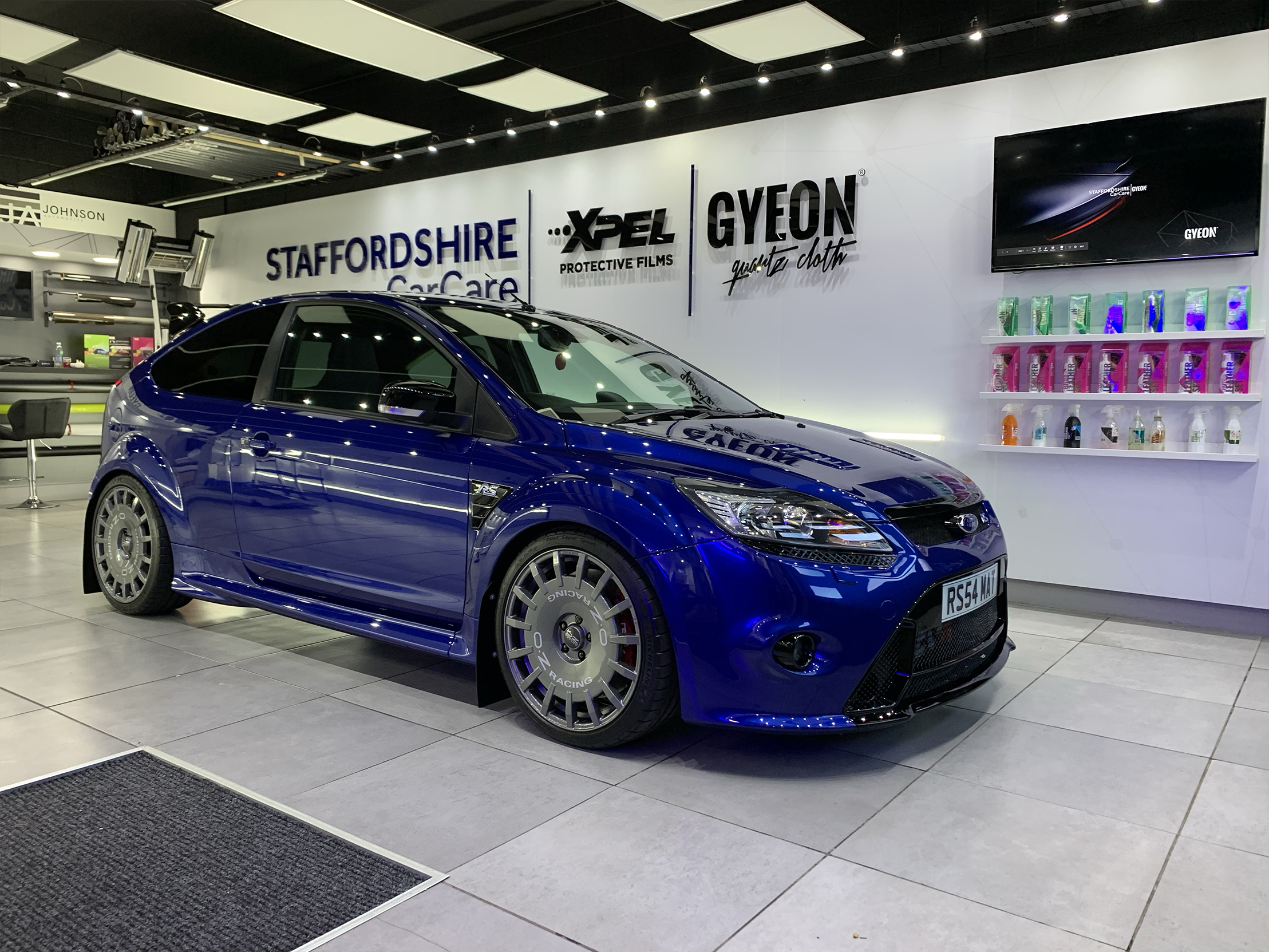 GYEON Protection Treatment- ford focus rs