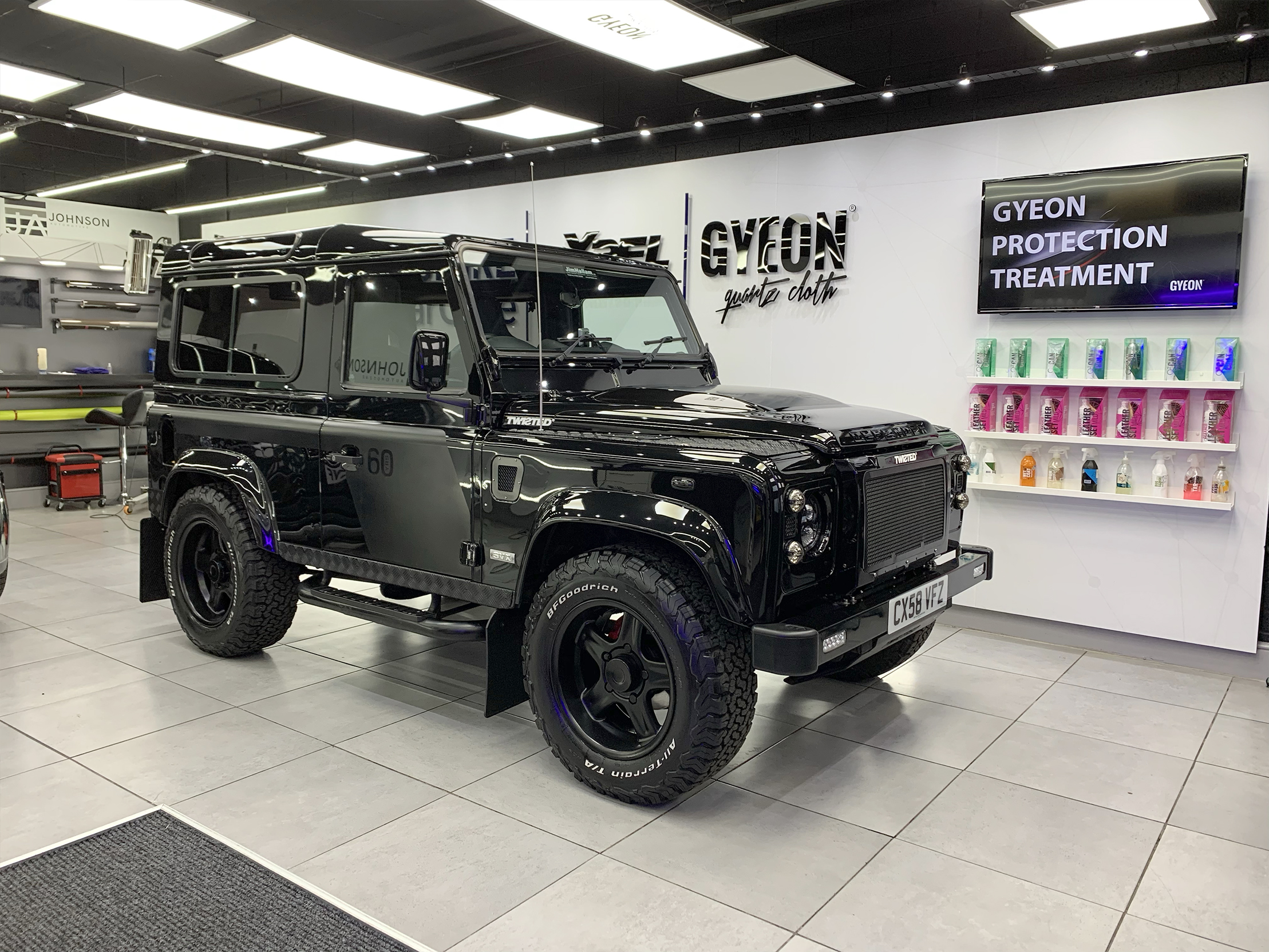 GYEON Ceramic Protection- landover defender
